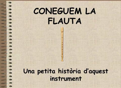 coneguem la flauta