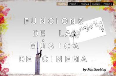 funcions musica cinema
